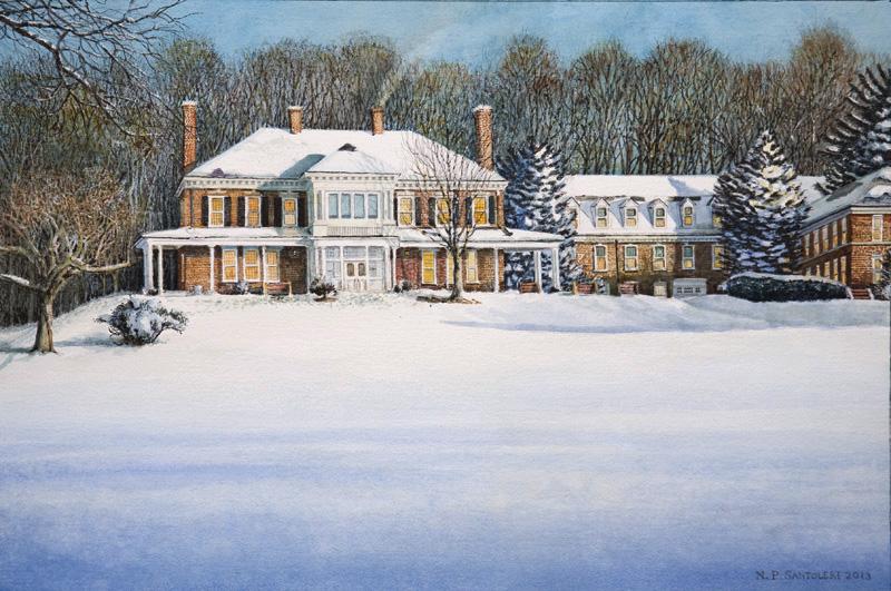 Malvern Retreat House Nicholas Santoleri Realism Artist