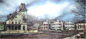 A View of Columbia Avenue Santoleri
