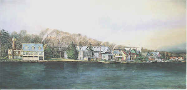 Boathouse Row 3 by N. Santoleri