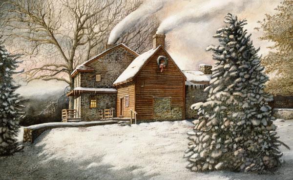 """""""Brandywine Christmas"""" by N. Santoleri"""