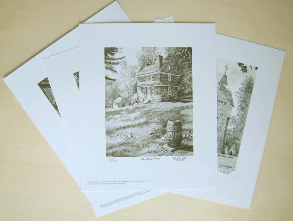 limited edition prints from Pencil Drawings by Santoleri