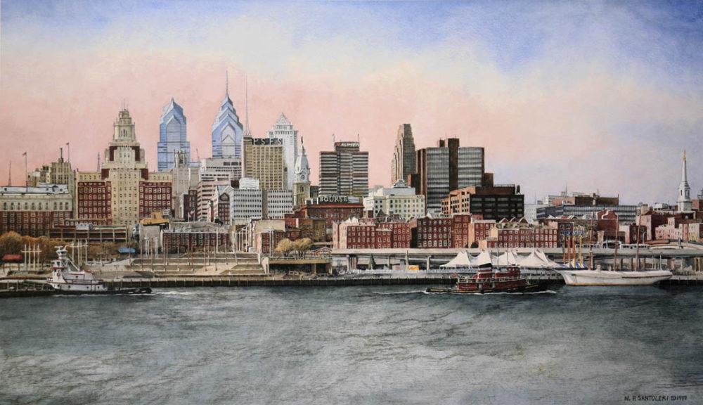 Philadelphia Skyline Santoleri