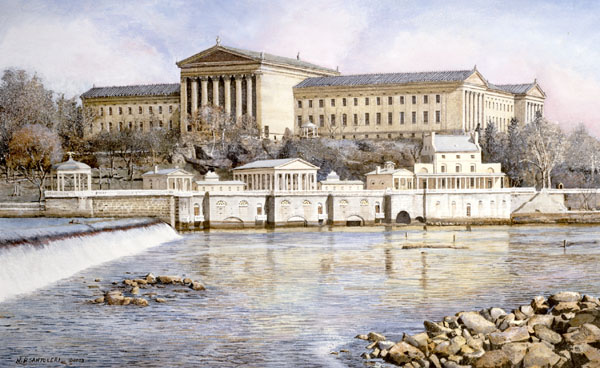 Philadelphia Waterworks Santoleri