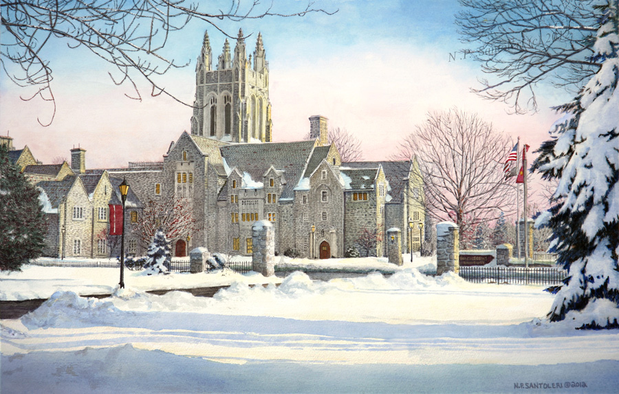 Saint Joseph's University Limited Edition Print