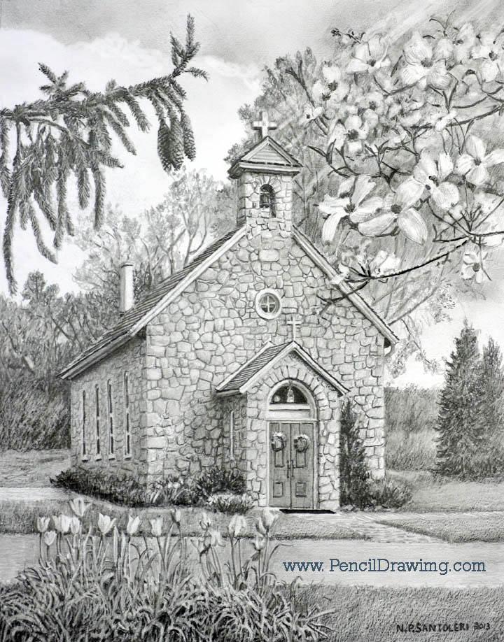 Saint Marys Chapel Nicholas Santoler Realism Artist
