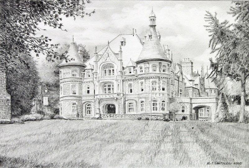 Rosemont in progress drawing