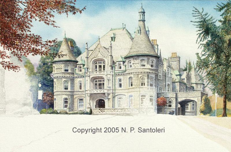 Rosemont College in progress 03 by Santoleri