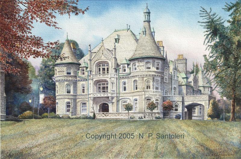 Rosemont College in progress 04
