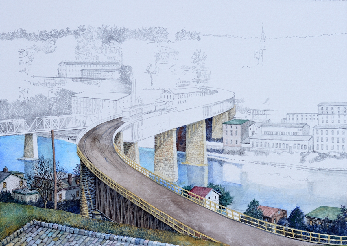 3 -S-Bridge to Manayunk in progress