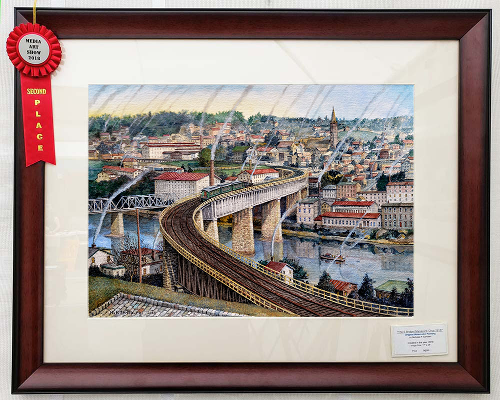 S-Bridge Framed with Ribbon